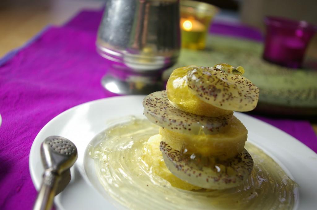 Gâteau vapeur au citron
