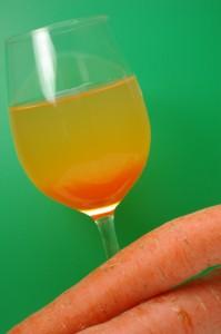 Kir au sirop de carottes