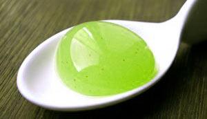 Ravioles de thé glacé au citron vert