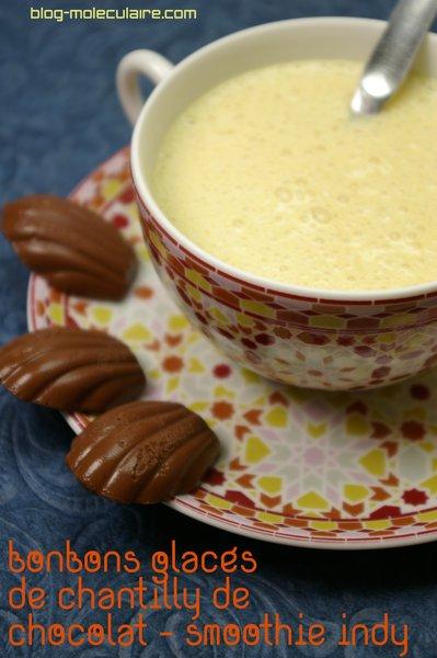 bonbon glacés et smoothie indy