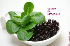Caviar de betterave