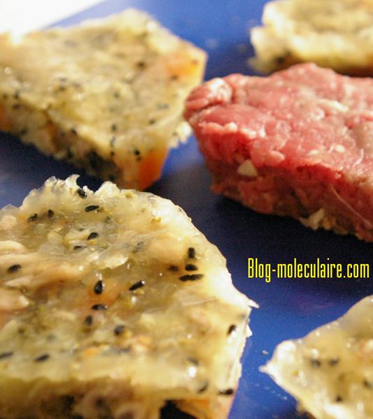 BeefBurger de légumes à la nigelle toastée